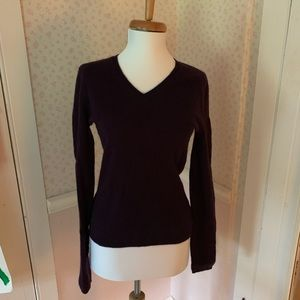 L Cashmere Sweater by Adrienne Vittadini